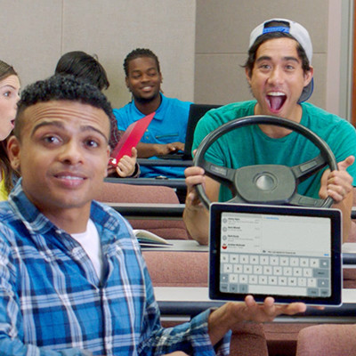 I can afford college Zach King